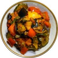 Овощное рагу в мультиварке Панасоник